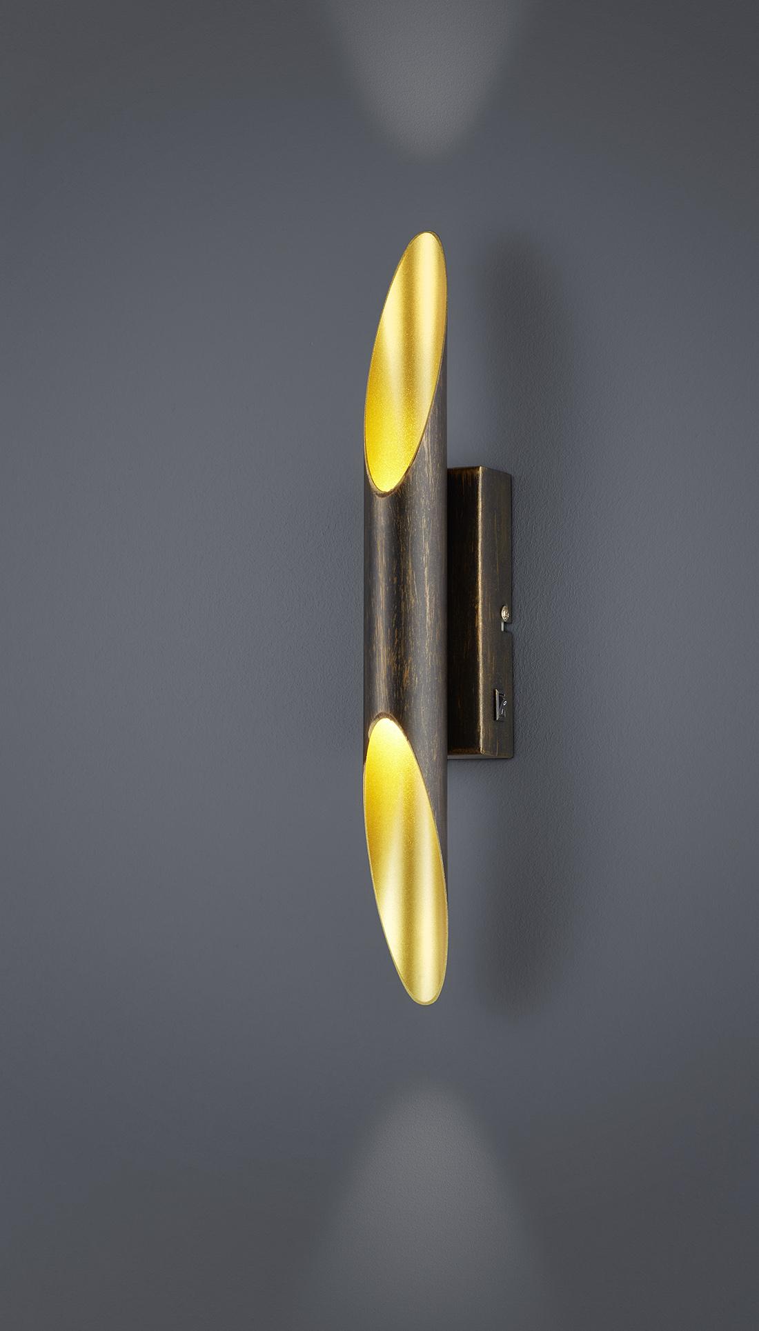 Trio Wall Lamp Bolero Wall Lamp Up//Down Light Lamp Nickel Matt