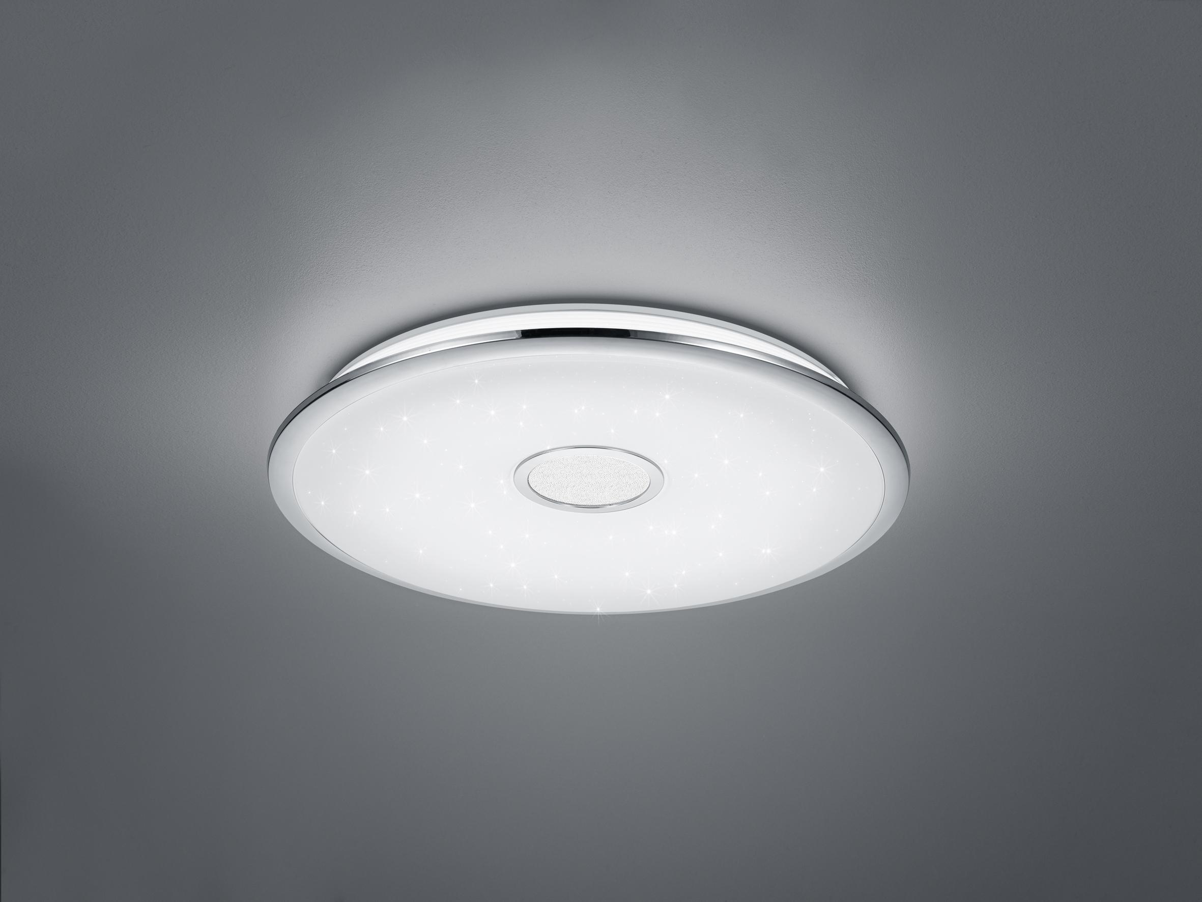Trio Lighting Osaka Plaf/ón LED 100 W Cromo